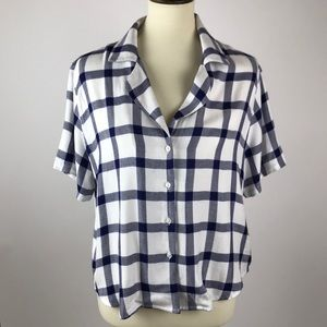 Rails | Gingham Button Up